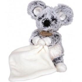 Accueil Babynat doudou Babynat Souris Noir mouchoir blanc 17cms BN050 Les Flocons Pantin