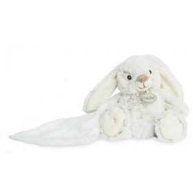 Accueil Babynat doudou Babynat Lapin Gris mouchoir 15cms BN0221 Malow Pantin