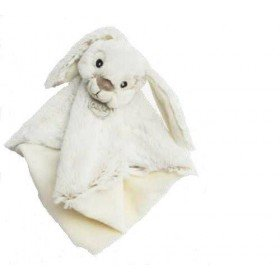 Accueil Babynat doudou Babynat Lapin Gris Guimauve 28cms BN0222 Malow Plat