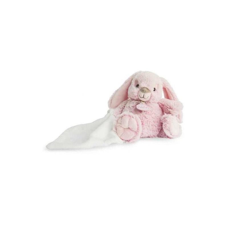 Accueil Babynat doudou Babynat Lapin Rose Guimauve mouchoir 15cm BN0218 Malow Pantin