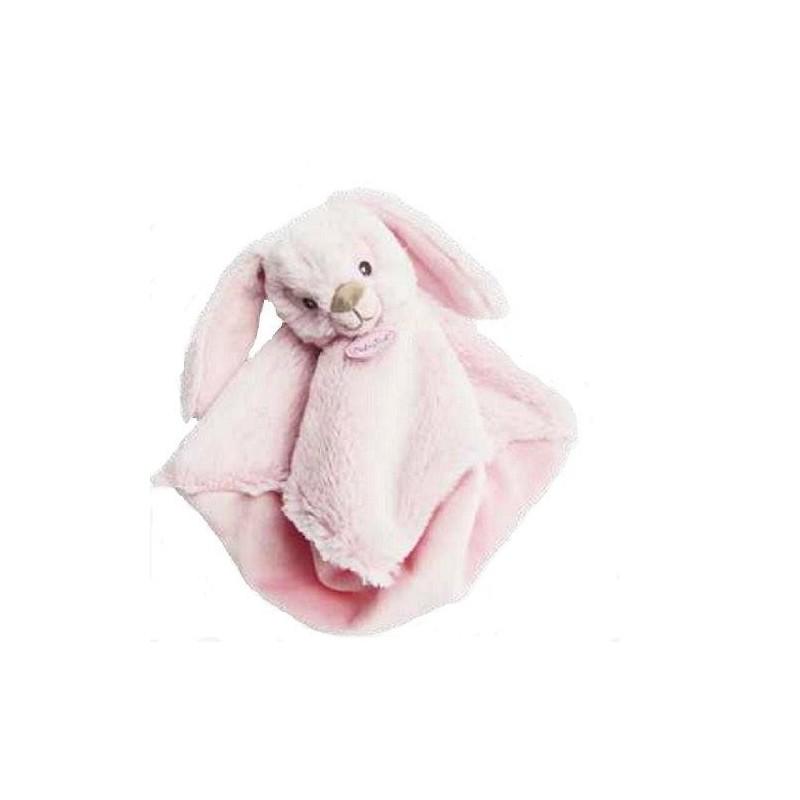 Accueil Babynat doudou Babynat Lapin Rose Guimauve 28 cms BN0219 Malow Plat