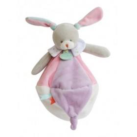 Accueil Babynat doudou Babynat Lapin Rose 26cms BN0204 Les Touptis Plat