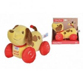 Accueil Z'autres marques Doudou Fisher Price Chien Marron Wouf Wouf Little Snoopy Vintage Activite