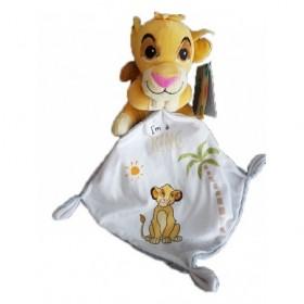 Accueil Z'autres marques Doudou Kiabi Lion Blanc Simba Mouchoir Blanc I'm a King Pantin