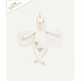Accueil Z'autres marques Doudou Tape à l'œil Licorne Blanc Alicorne or 28cms Dream Pantin
