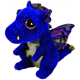 Accueil Z'autres marques Doudou Ty Dragon Bleu Saffire 23cms Dragon Pantin