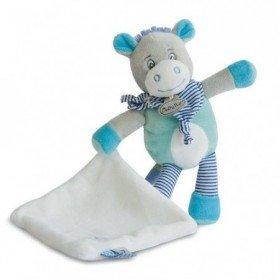 Accueil Babynat doudou Babynat Ane Bleu BN0182 Picotin Pantin