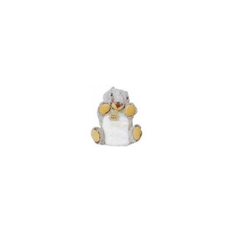 Accueil Histoire d'ours Doudou Histoire d'ours castor ou marmotte beige marron marionnette z'animoos HO2138