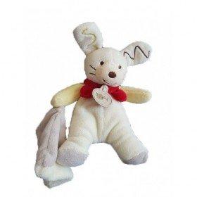 Accueil Babynat doudou Babynat Lapin Blanc Coffret BN295  Pantin