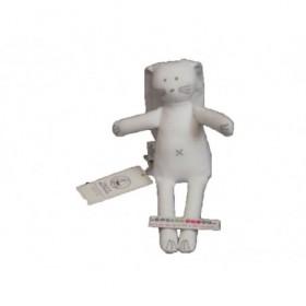 Accueil Petit Bateau Doudou Petit Bateau lapin blanc croix gris