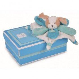 Accueil Doudou et Compagnie Doudou Doudou et Compagnie Mini Collector 22cms Chien plat Bleu DC2790