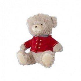 Accueil Jacadi Doudou Jacadi ours noel salopette velours rouge