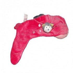 Accueil Z'autres marques Doudou Egmont Toys Chat souris sur une chaussette rose rouge