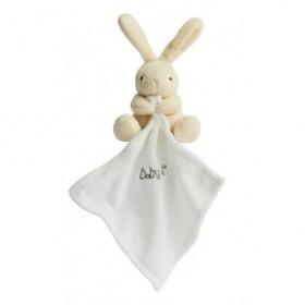 Accueil Babynat doudou Babynat Lapin Blanc 15cms BN3521 Les Naturels Pantin