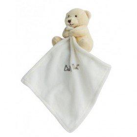 Accueil Babynat doudou Babynat Ours Blanc ivoire 15cms bn3520 Les Naturels Pantin