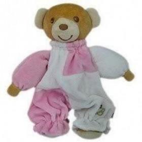 Accueil Z'autres marques Doudou Bestever ours Harmonie rose