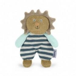 Accueil Z'autres marques Doudou Sterntaler Mini Lion leo hochet marron raye 16cms