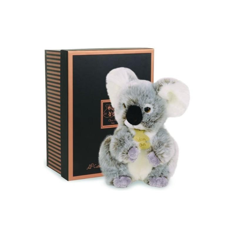 Accueil Histoire d'ours Doudou Histoire d'ours Koala Gris Les Authentiques PM 20cms HO2218
