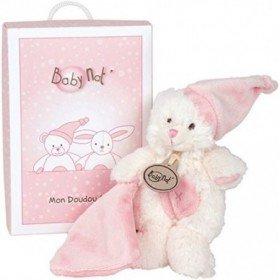Accueil Babynat doudou Babynat Ours Rose Coffret Cadeau 14cms BN045 Les Calins Pantin