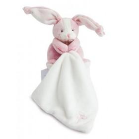 Accueil Babynat doudou Babynat Lapin Rose Mouchoir Blanc BN0270 Les Toudoux Pantin
