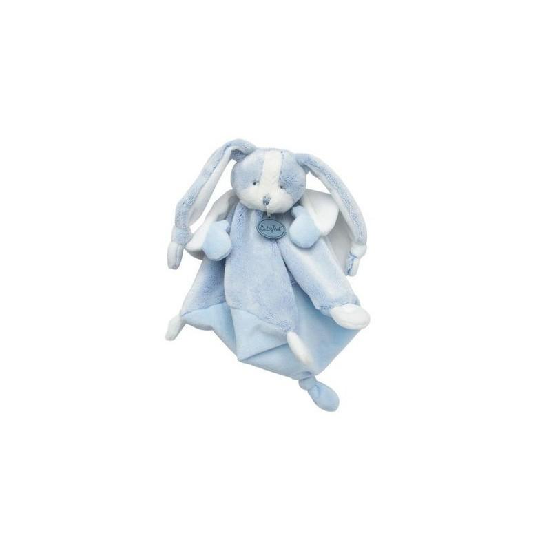 Accueil Babynat doudou Babynat Lapin Bleu Cape Blanche BN0275 Les Toudoux Plat