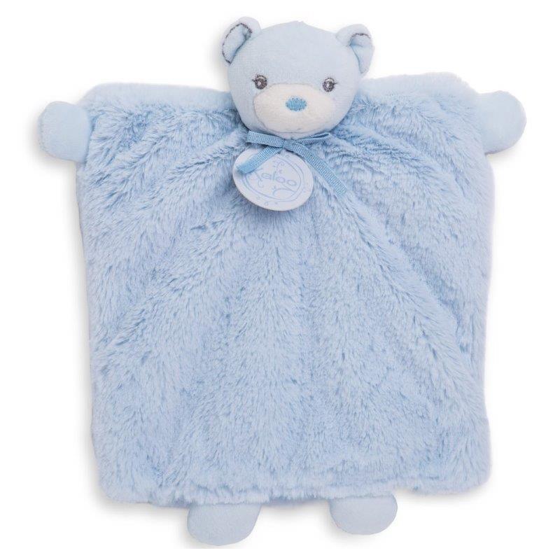 Accueil Kaloo Doudou Kaloo Perle ours Ourson marionnette bleu