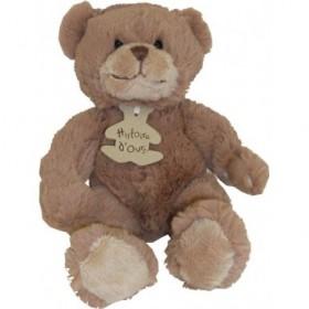 Accueil Histoire d'ours Doudou Histoire d'ours calin'ours marron PM-22cm- HO1155