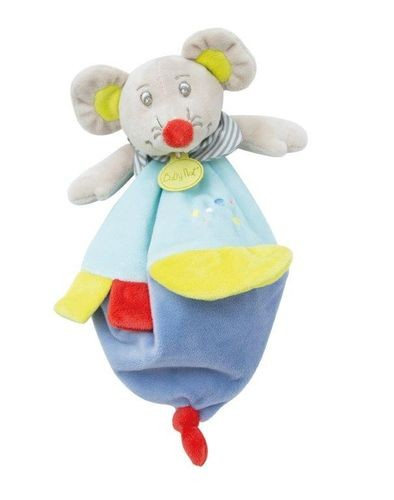 Babynat BabyNat Souris Marceau Plat Bleu Vert Foulard BN0266