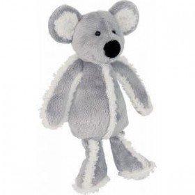 Accueil Histoire d'ours Doudou Histoire d'ours souris pantin grise polaire 30cms HO1376