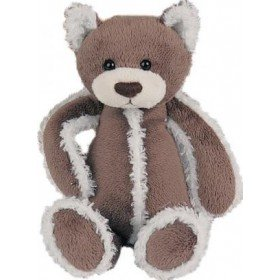 Accueil Histoire d'ours Doudou Histoire d'ours chat ours marron polaire 30Cms HO1377