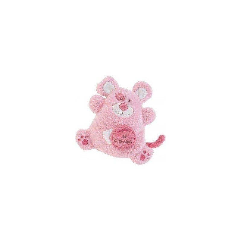 Accueil Babynat Doudou et Compagnie Babynat souris monstre rose monsters douceur PE1368