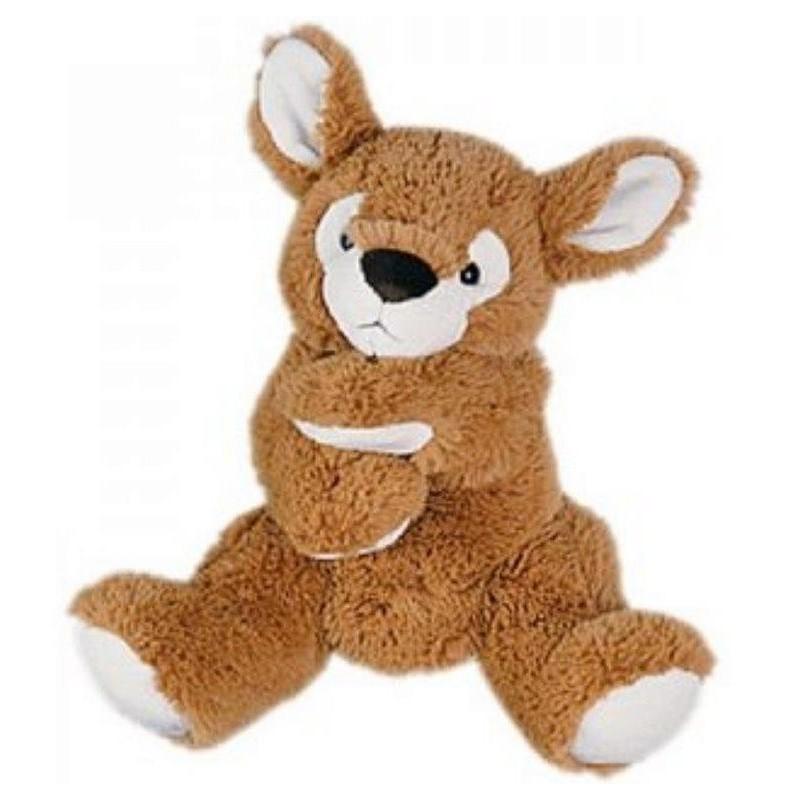 Accueil Histoire d'ours Doudou Histoire d'ours marionnette kangourou faon h : 25 cm dès la naissance - ho1385