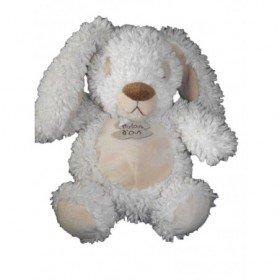 Accueil Histoire d'ours Doudou Histoire d'ours lapin blanc beige Frisouboule HO2045