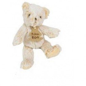 Accueil Histoire d'ours Doudou Histoire d'ours ours bear beige marron z'animoos Display 17cms HO2139