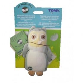 Accueil Z'autres marques Doudou Tomy My Natural chouette hibou gris les baminous 16cms