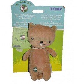 Accueil Z'autres marques Doudou Tomy My Natural ecureuil castor marron les baminous 22cms