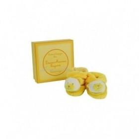 Accueil Doudou et Compagnie Doudou Doudou et Compagnie ours chausson Hochet macaron jaune Bergamote
