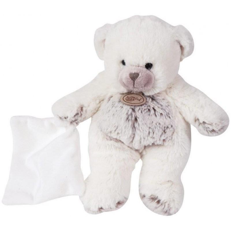 Accueil Babynat doudou Babynat Ours Blanc BN664 Les Flocons Pantin