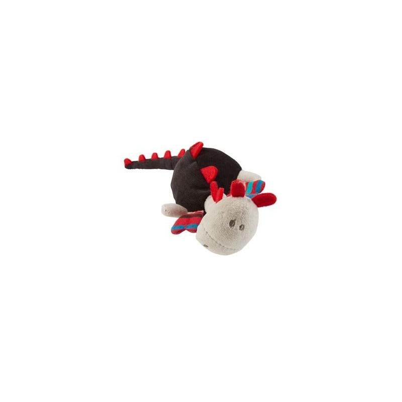 Accueil Z'autres marques Doudou La compagnie des petits Dinosaure Marron Dinosaure Dragon Marron Marron et Rouge Pantin
