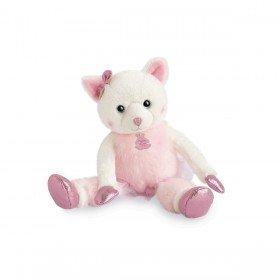 Accueil Histoire d'ours doudou Histoire d'ours Chat Rose Misty 25cms HO2841 Les Petits Twist Pantin