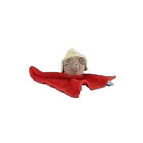 Accueil Sucre d'orge Doudou Sucre d'orge Souris Rouge incas plat triangle bonnet jaune Plat
