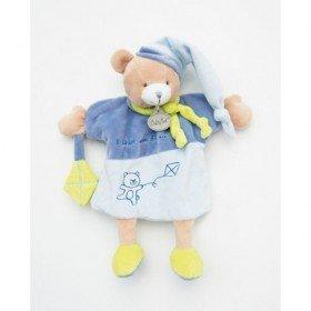 Accueil Babynat doudou Babynat Ours Bleu Il était une fois Marionnette