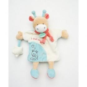 Accueil Babynat doudou Babynat Girafe Blanc Il était une fois Marionnette