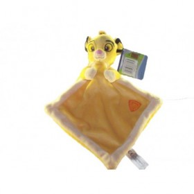 Accueil Disney Doudou Disney Lion Jaune Plat - Roi lion
