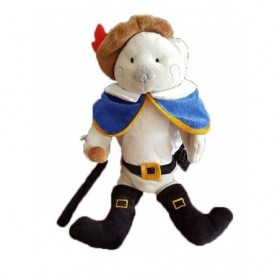 Accueil Histoire d'ours Doudou Histoire d'ours Chat Gris Botte marionnette -