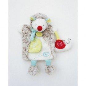 Accueil Babynat doudou Babynat Herisson Gris BN0282 Lettre E Les Douillettes Marionnette