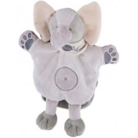 Accueil Babynat doudou Babynat Elephant Gris Jumbo BN908 Savane Marionnette