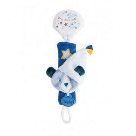 Accueil Babynat Doudou Babynat Ours Bleu BN0310 Attache Tetine - Les Cometes
