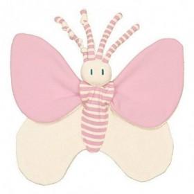 Accueil Z'autres marques Doudou Keptin JR Papillon Rose Plat - Bondifly