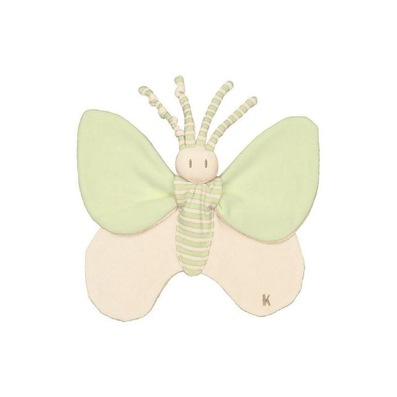 Accueil Z'autres marques Doudou Keptin JR Papillon Vert Plat - Bondifly